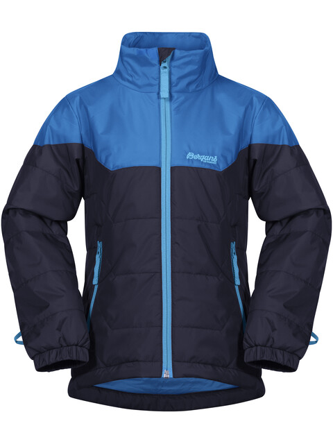 Bergans Kids Ruffen Light Insulated Jacket Navy/AthensBlue/PolarBlue